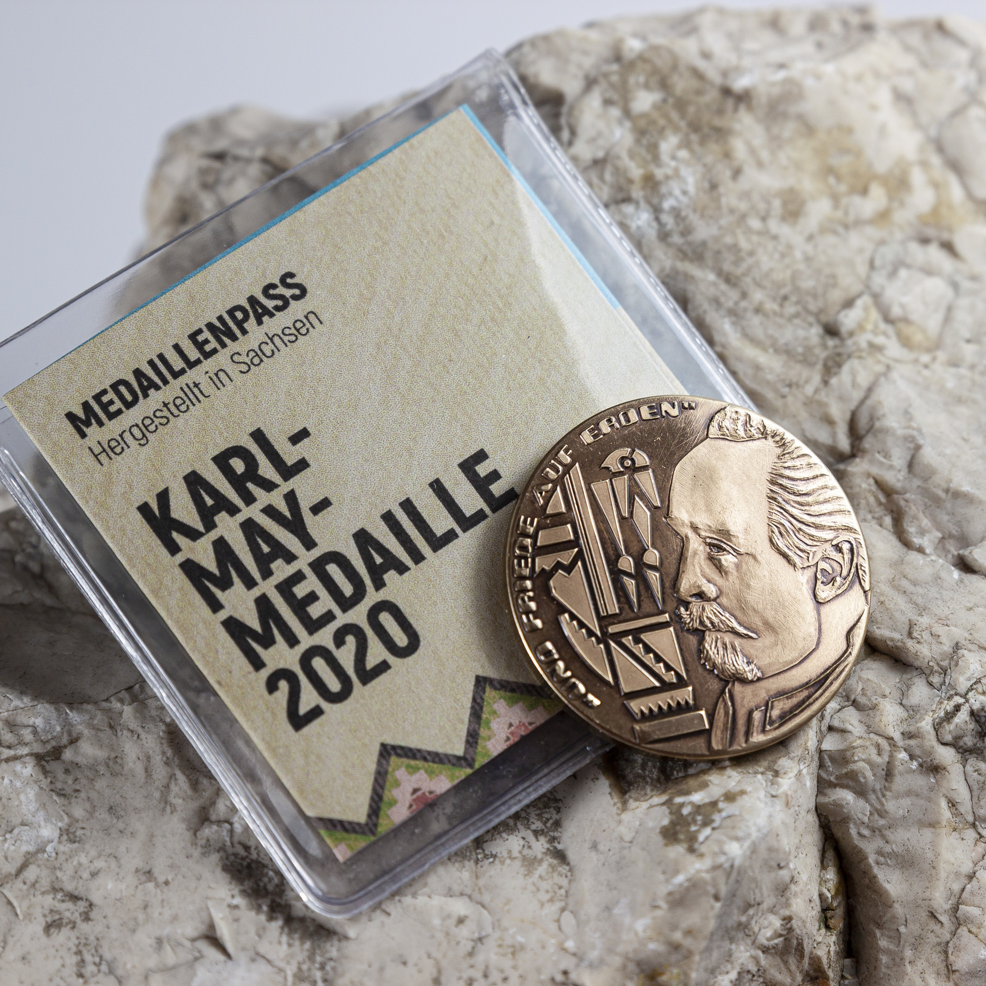 Karl-May-Medaille (Bronze)